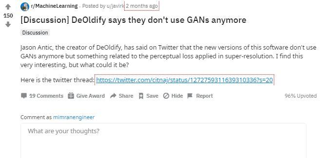 deoldify reddit reviews