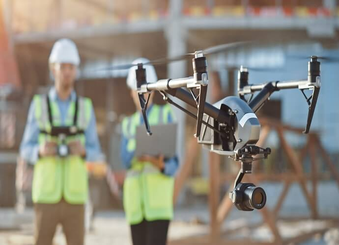commercial drones uses